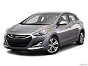 2013 Hyundai Elantra GT 6-Speed Automatic Transmission, front angle medium view.