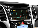 2013 Hyundai Elantra GT 6-Speed Automatic Transmission, driver position view of navigation system.