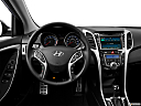 2013 Hyundai Elantra GT 6-Speed Automatic Transmission, steering wheel/center console.