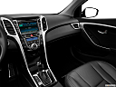 2013 Hyundai Elantra GT 6-Speed Automatic Transmission, center console/passenger side.