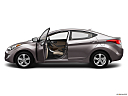 2013 Hyundai Elantra GLS, driver's side profile with drivers side door open.