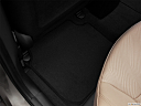 2013 Hyundai Elantra GLS, rear driver's side floor mat. mid-seat level from outside looking in.