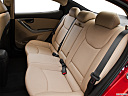 2013 Hyundai Elantra Limited, rear seats from drivers side.