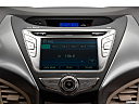 2013 Hyundai Elantra Limited, closeup of radio head unit