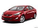 2013 Hyundai Elantra Limited, front angle medium view.