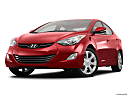 2013 Hyundai Elantra Limited, front angle view, low wide perspective.
