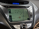 2013 Hyundai Elantra Limited, driver position view of navigation system.