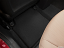 2013 Hyundai Elantra Limited, rear driver's side floor mat. mid-seat level from outside looking in.