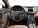 2013 Hyundai Elantra Limited, steering wheel/center console.
