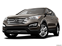 2013 Hyundai Santa Fe Sport 2.0T, front angle view, low wide perspective.