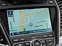 2013 Hyundai Santa Fe Sport 2.0T, driver position view of navigation system.