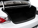 2013 Hyundai Sonata Hybrid Limited, trunk open.