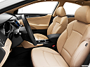 2013 Hyundai Sonata Hybrid Limited, front seats from drivers side.