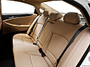 2013 Hyundai Sonata Hybrid Limited, rear seats from drivers side.