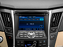 2013 Hyundai Sonata Hybrid Limited, closeup of radio head unit
