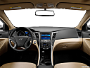 2013 Hyundai Sonata Hybrid Limited, centered wide dash shot