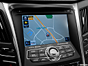 2013 Hyundai Sonata Hybrid Limited, driver position view of navigation system.