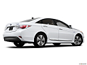 2013 Hyundai Sonata Hybrid Limited, low/wide rear 5/8.