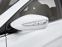 2013 Hyundai Sonata Hybrid Limited, driver's side mirror, 3_4 rear