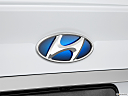 2013 Hyundai Sonata Hybrid Limited, rear manufacture badge/emblem