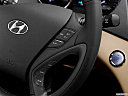 2013 Hyundai Sonata Hybrid Limited, steering wheel controls (right side)