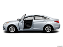 2013 Hyundai Sonata GLS, driver's side profile with drivers side door open.