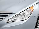 2013 Hyundai Sonata GLS, drivers side headlight.