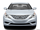 2013 Hyundai Sonata GLS, low/wide front.