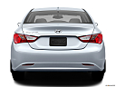 2013 Hyundai Sonata GLS, low/wide rear.