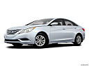 2013 Hyundai Sonata GLS, low/wide front 5/8.