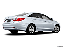 2013 Hyundai Sonata GLS, low/wide rear 5/8.