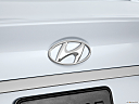 2013 Hyundai Sonata GLS, rear manufacture badge/emblem