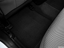 2013 Hyundai Sonata GLS, rear driver's side floor mat. mid-seat level from outside looking in.