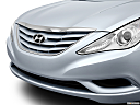 2013 Hyundai Sonata GLS, close up of grill.
