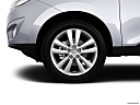 2013 Hyundai Tucson Limited, front drivers side wheel at profile.