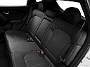 2013 Hyundai Tucson Limited, rear seats from drivers side.