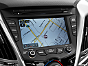 2013 Hyundai Veloster, driver position view of navigation system.