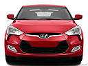 2013 Hyundai Veloster, low/wide front.