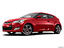 2013 Hyundai Veloster, low/wide front 5/8.