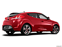 2013 Hyundai Veloster, low/wide rear 5/8.