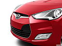 2013 Hyundai Veloster, close up of grill.