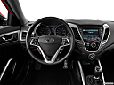 2013 Hyundai Veloster, steering wheel/center console.