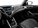2013 Hyundai Veloster, center console/passenger side.