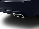 2013 Mercedes-Benz S-Class S550, chrome tip exhaust pipe.