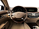 2013 Mercedes-Benz S-Class S550, steering wheel/center console.