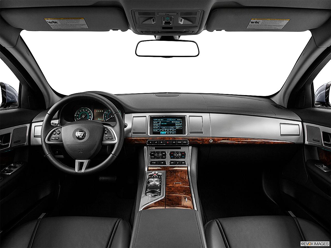 2014 Jaguar XF 3.0, Centered Wide Dash Shot