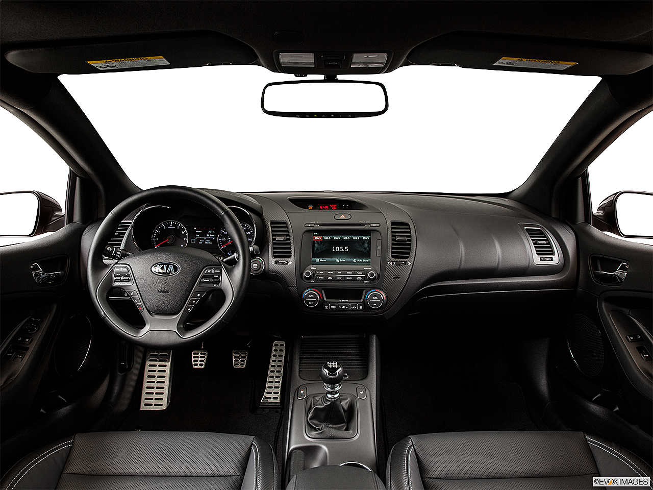 2014 Kia Forte Koup Sx 2dr Coupe 6m Research Groovecar Fuse Box Centered Wide Dash Shot