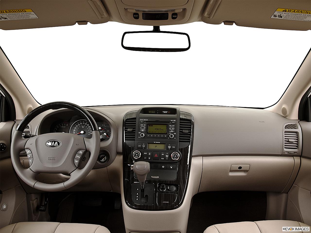 2014 Kia Sedona EX 3.5L V6 6 Spd A/T, Centered Wide