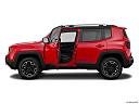 2015 Jeep Renegade Trailhawk, driver's side profile with drivers side door open.