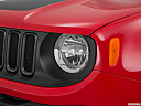 2015 Jeep Renegade Trailhawk, drivers side headlight.